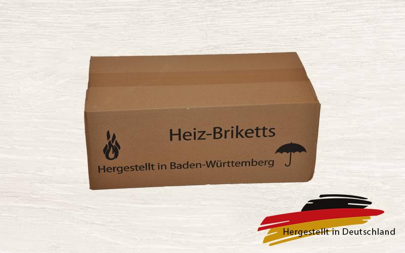 Premium Briketts Buche (eckig) im Karton