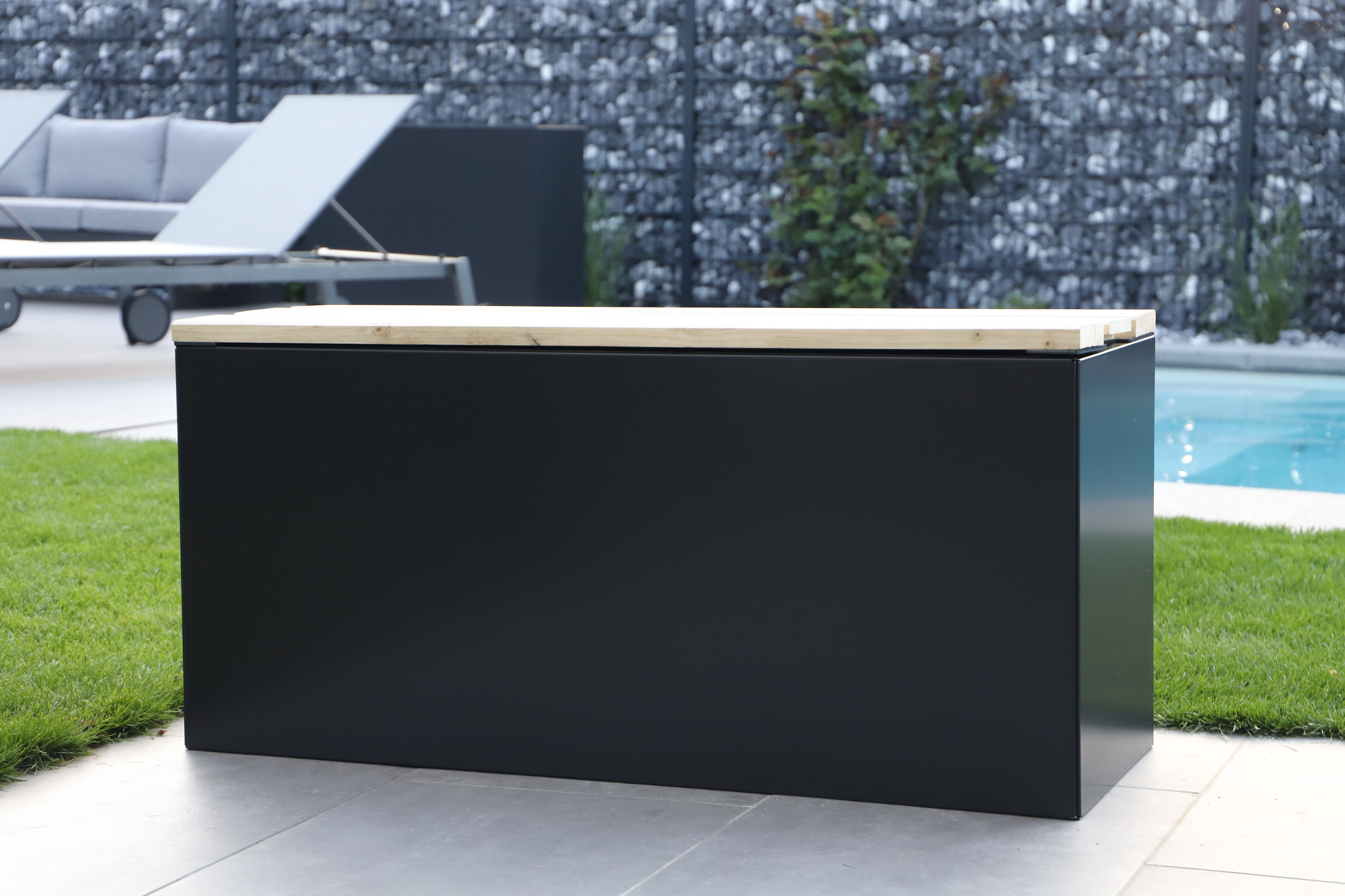Panchina N°3 | L1125 x B400 x H500 cm