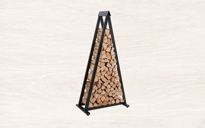 Feuerholzregal Triangle